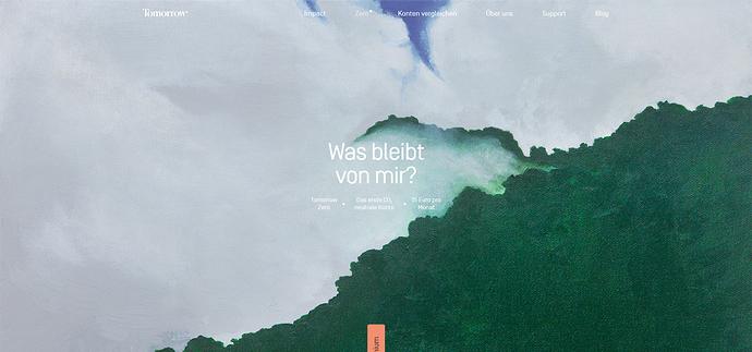 Screenshot_2020-09-04 Zero – das erste klimaneutrale Konto Tomorrow